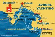 Fethiye - 12 Inseln